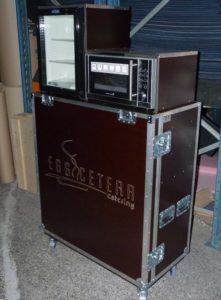 flight case sur mesure pour catering