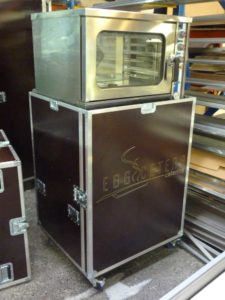 flight case sur mesure pour four conex motorsport