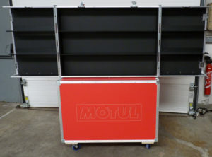 flight case sur mesure conex motorsport